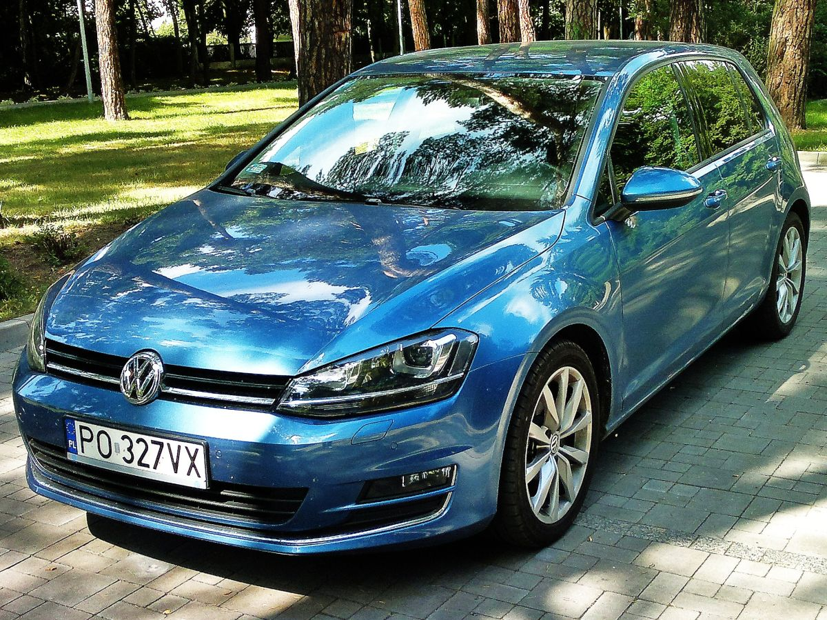 volkswagen golf 1 6 tdi bluemotion comfortline mniej znaczy wi cej namasce. Black Bedroom Furniture Sets. Home Design Ideas