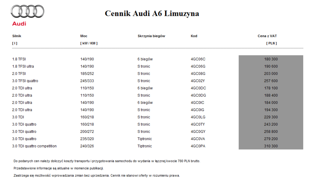 audi_a6_limuzyna_cennik_2014_1