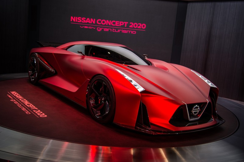 Nissan Vision GT Concept 2020 | NaMasce
