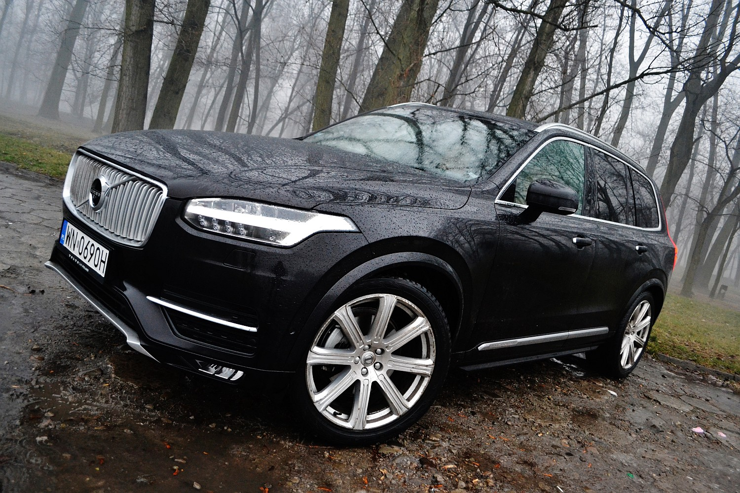 volvo xc90 t6 awd inscription si a dopracowania namasce. Black Bedroom Furniture Sets. Home Design Ideas