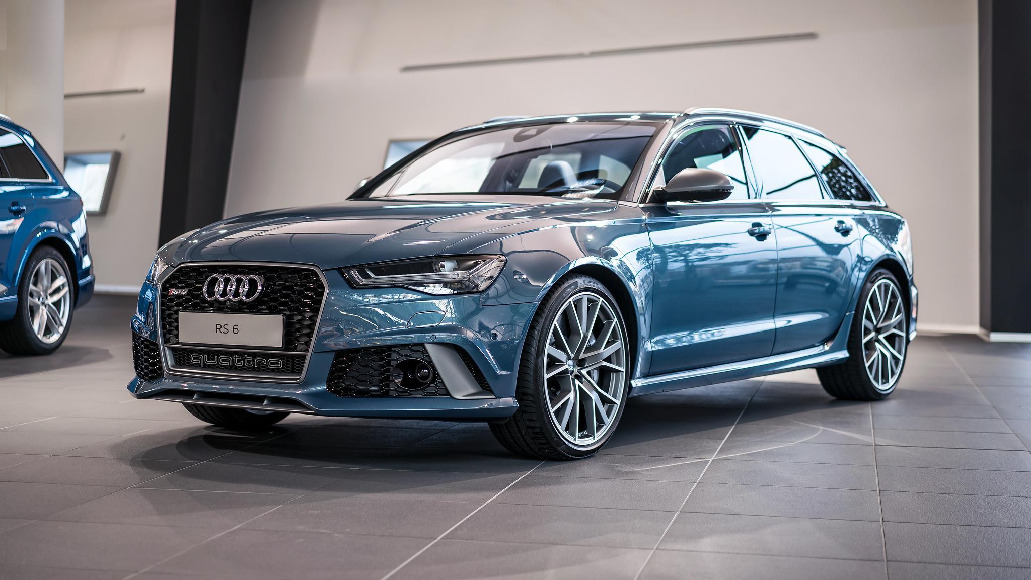 Audi Rs6 Performance Polar Blue Namasce