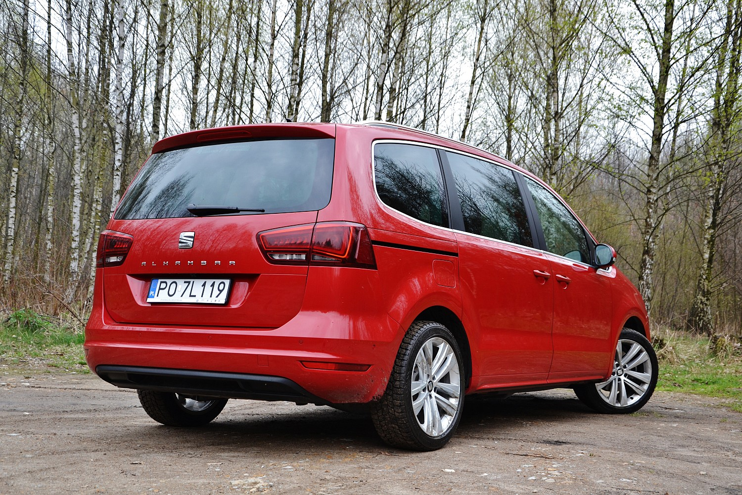 seat alhambra 2 0 tdi dsg style advanced funkcjonalno. Black Bedroom Furniture Sets. Home Design Ideas