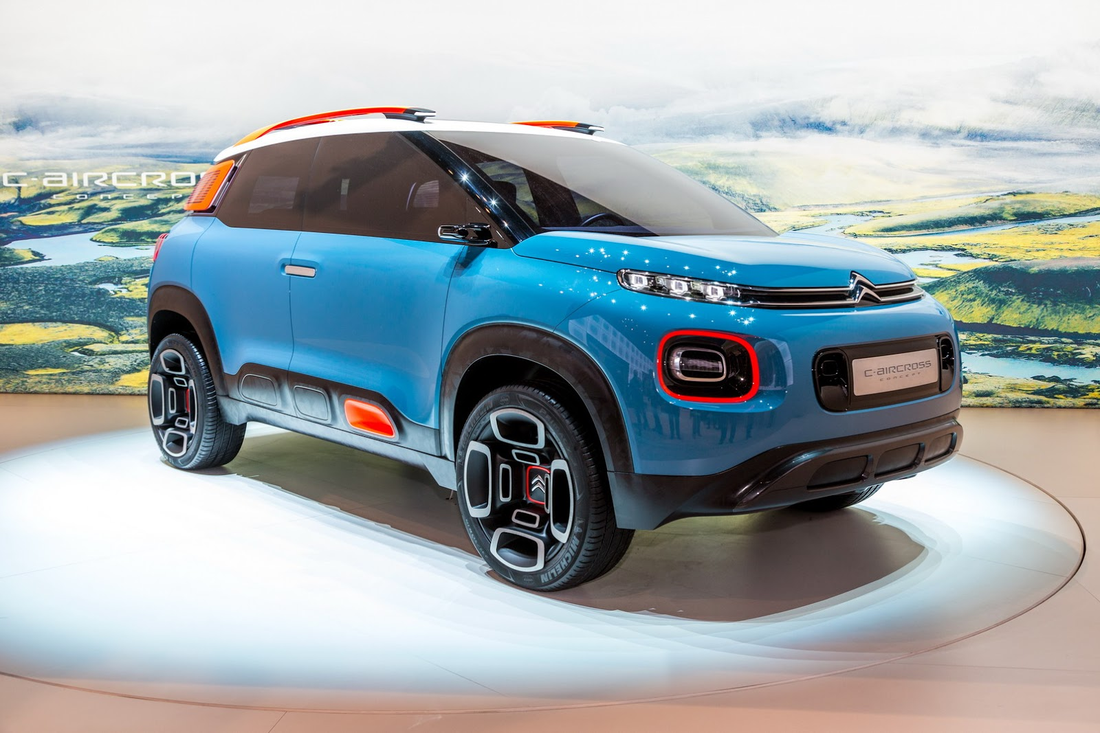 citroen c3 aircross concept genewa namasce. Black Bedroom Furniture Sets. Home Design Ideas