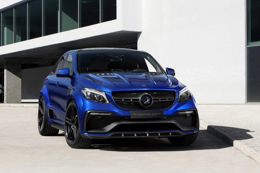 Mercedes benz gle coupe topcar namasce for Mercedes benz suv coupe