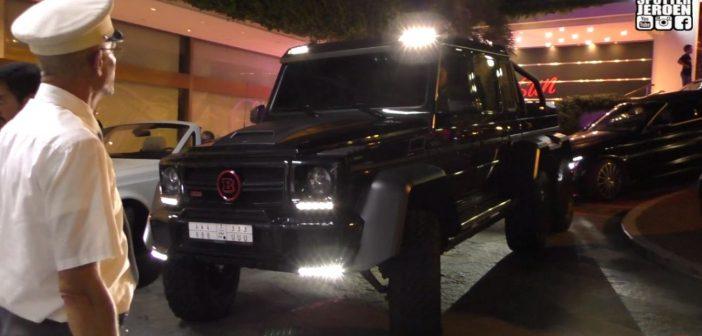 Mercedes-AMG G 63 6×6 zaduży najazdę poMonako (Video)