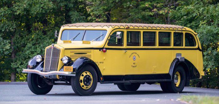 Autobus zParku Yellowstone nasprzedaż!