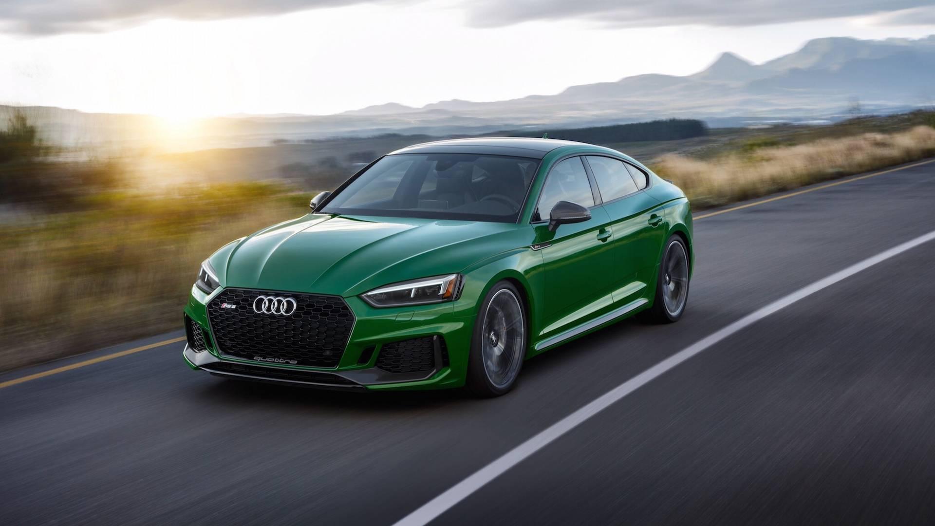 Audi RS5 Sportback 2018 oficjalnie NaMasce