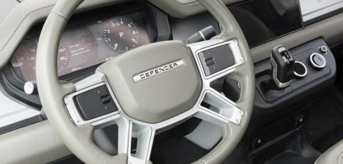 Land Rover Defender – pierwsze zdjęcie wnętrza!
