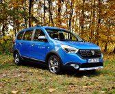 Dacia Lodgy Blue dCi Stepway – Duże auto, mały wydatek
