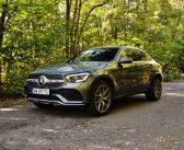 Mercedes-Benz GLC Coupe 300 d 4MATIC – Modnie, szybko iwygodnie