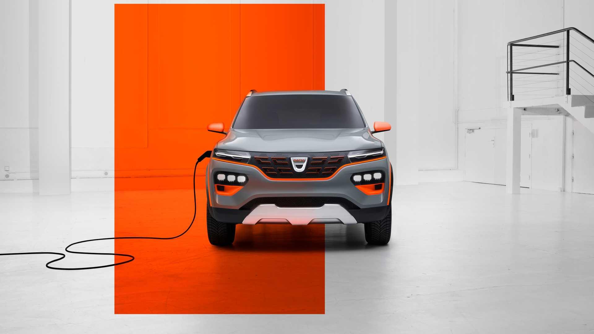 Elektryczna Dacia