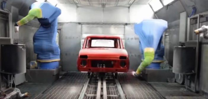 Łada Niva – proces produkcyjny (Video)