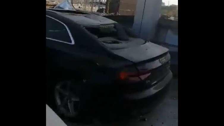 600 nowych Audi uległo zniszczeniu