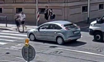 Road rage w Czechach