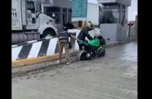 Cwaniak na motocyklu