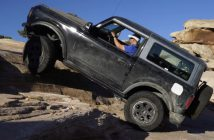 Pokonywanie skał Fordem Bronco