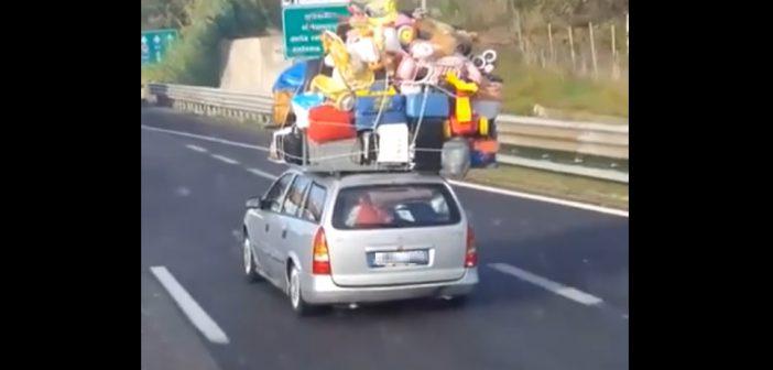 Gdyzałatwiasz przeprowadzkę swoim kombiakiem: itojednym kursem! (wideo)