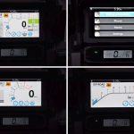 Ekran multimedialny Hondy CRF1100L