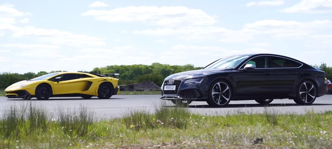 Aventador kontra RS7