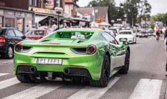 Nieudany wypoczynek w Mielnie: skradziono Ferrari 488 GTB