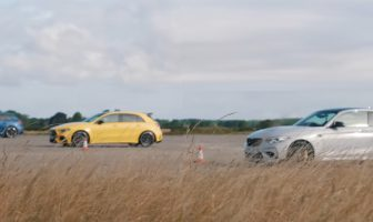 RS3 vs A 45 AMG vs M2 CS