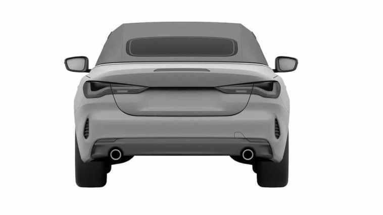 BMW Serii 4 Convertible 2021: zdjęcia patentowe