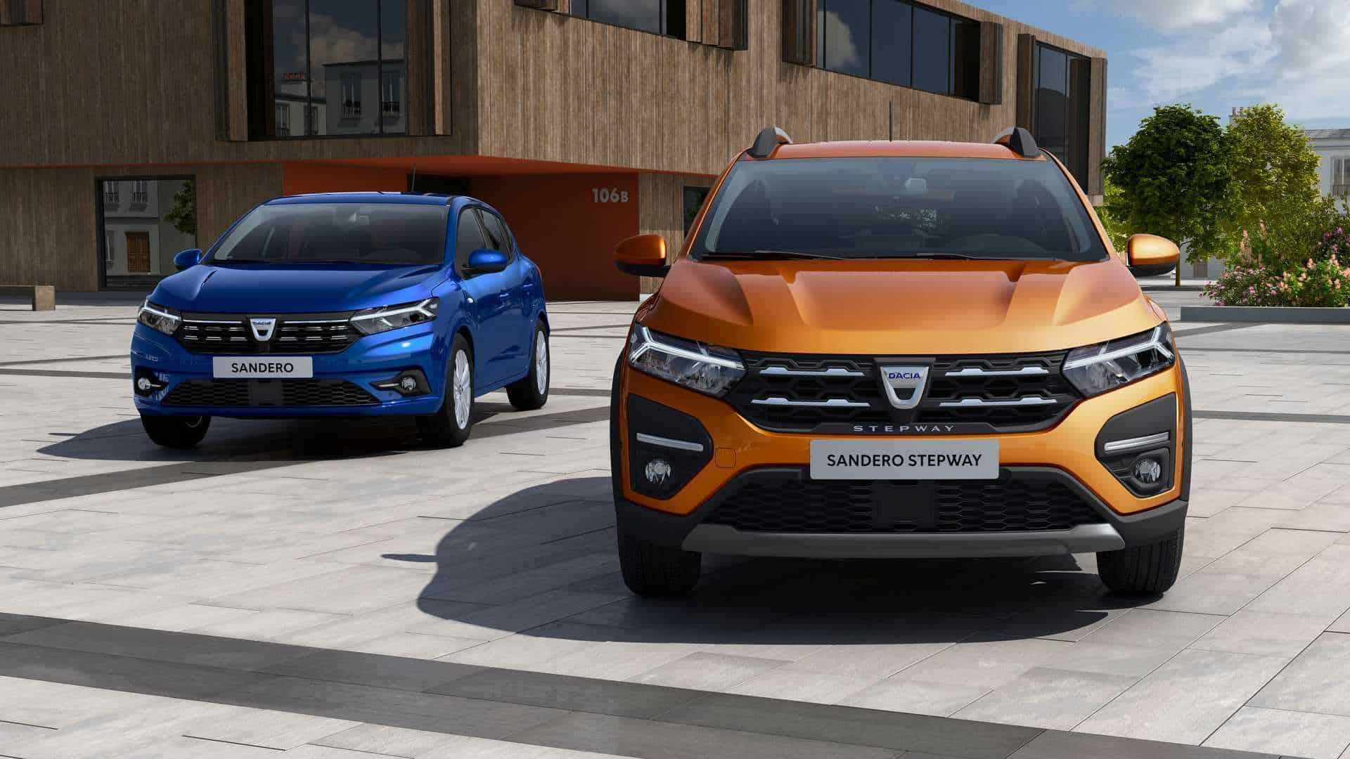 Dacia Sandero 2021 i Dacia Logan 2021 - pierwsze oficjalne zdjęcia