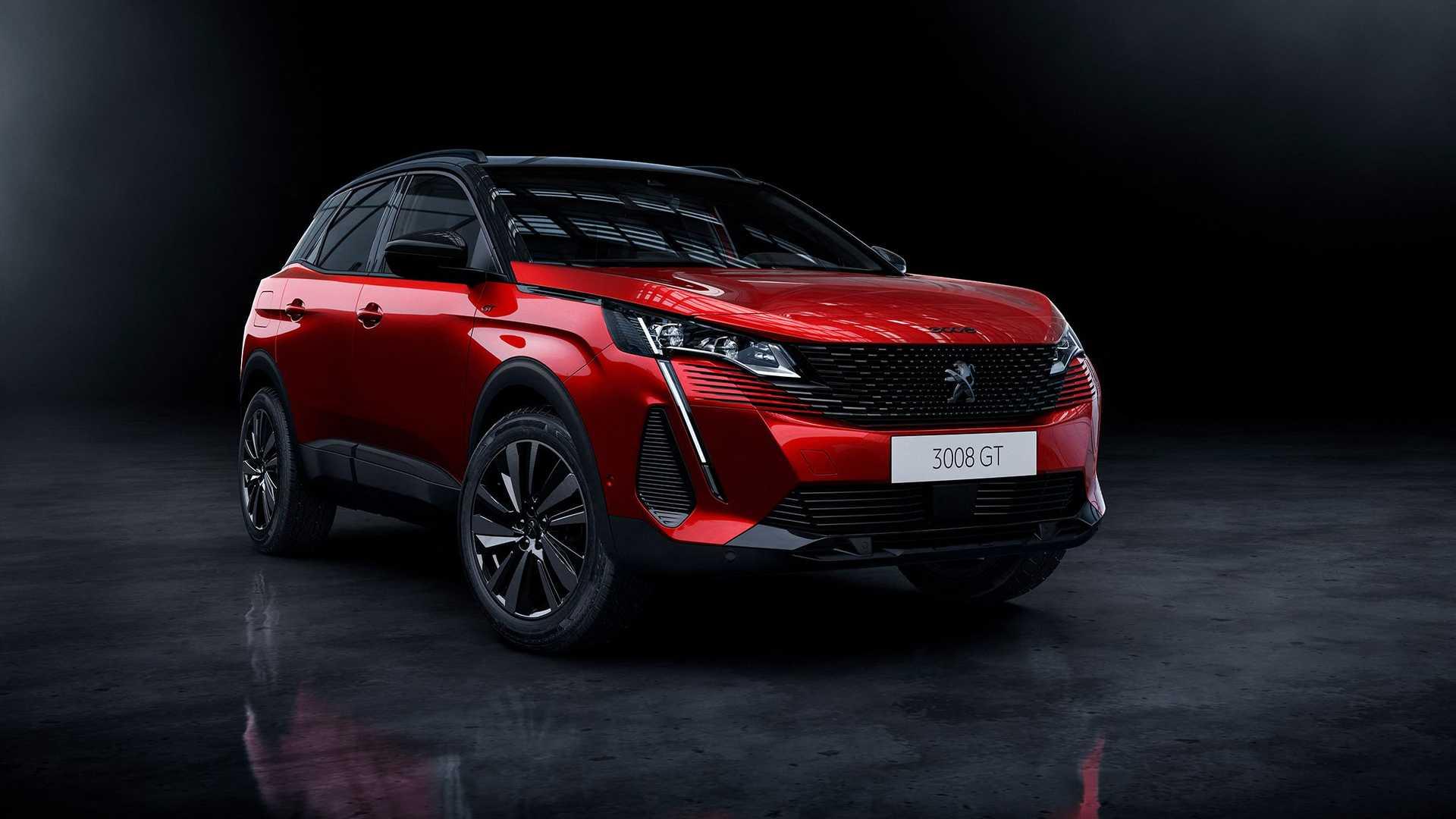 Peugeot 3008 po liftingu - nowe multimedia, 300 KM pod maską