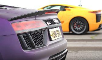 Audi R8 vs Lexus LFA - pojedynek superaut z V10