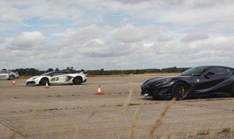 Takiego wyścigu jeszcze nie było! Porsche 911 Turbo S vs Ferrari 812 Superfast vs Lamborghini Aventador SVJ