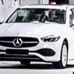 Mercedes-Benz Klasy C W206 (2021) przyłapany - nadjeżdża nowe!