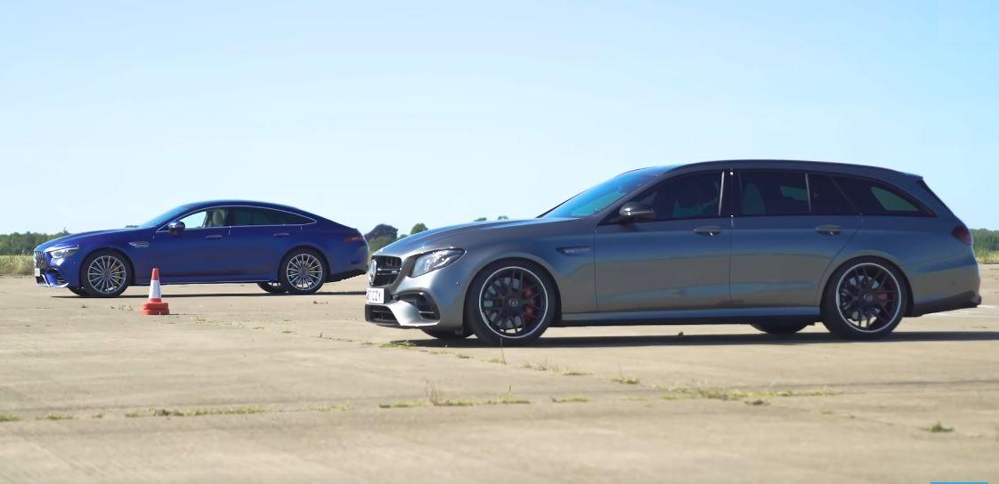 Ten sam silnik, ale 200 tysięcy złotych różnicy: czy AMG GT S 4-Door pokona E 63 S