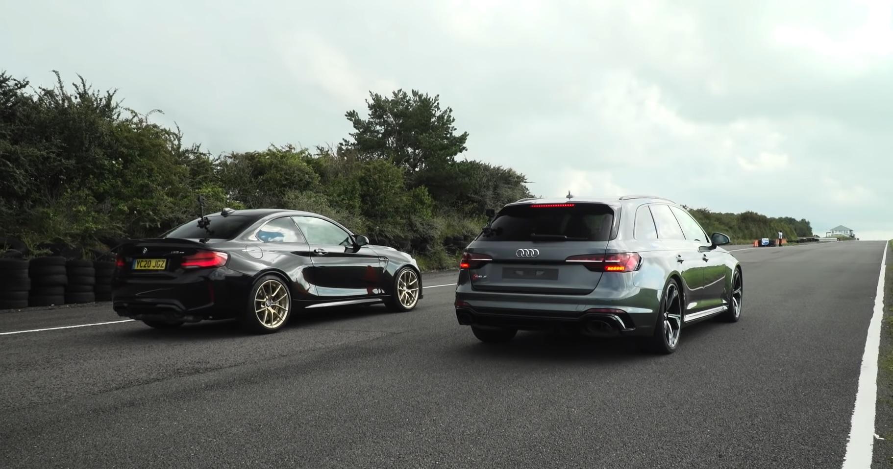 BMW M2 CS vs Audi RS4 Avant
