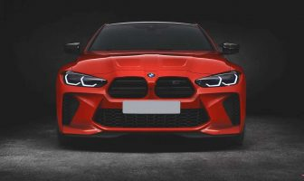 BMW M4 2021 zmieniony grill