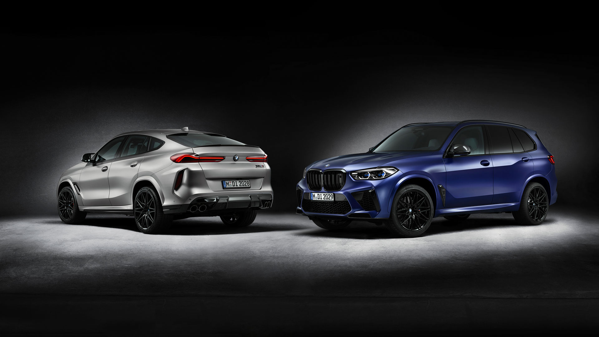 BMW X5 M Competition i BMW X6 Competition - wersje First Edition