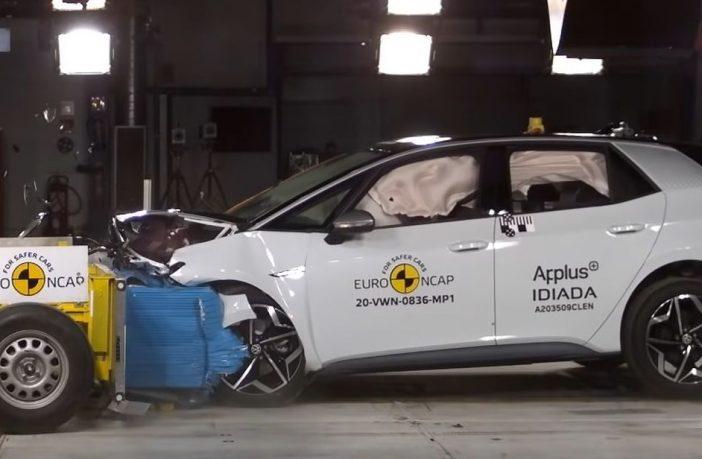 Volkswagen ID.3 test zderzeniowy