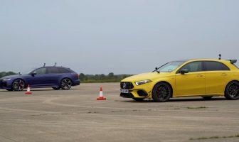 Audi RS6 vs Mercedes-AMG A 45 S