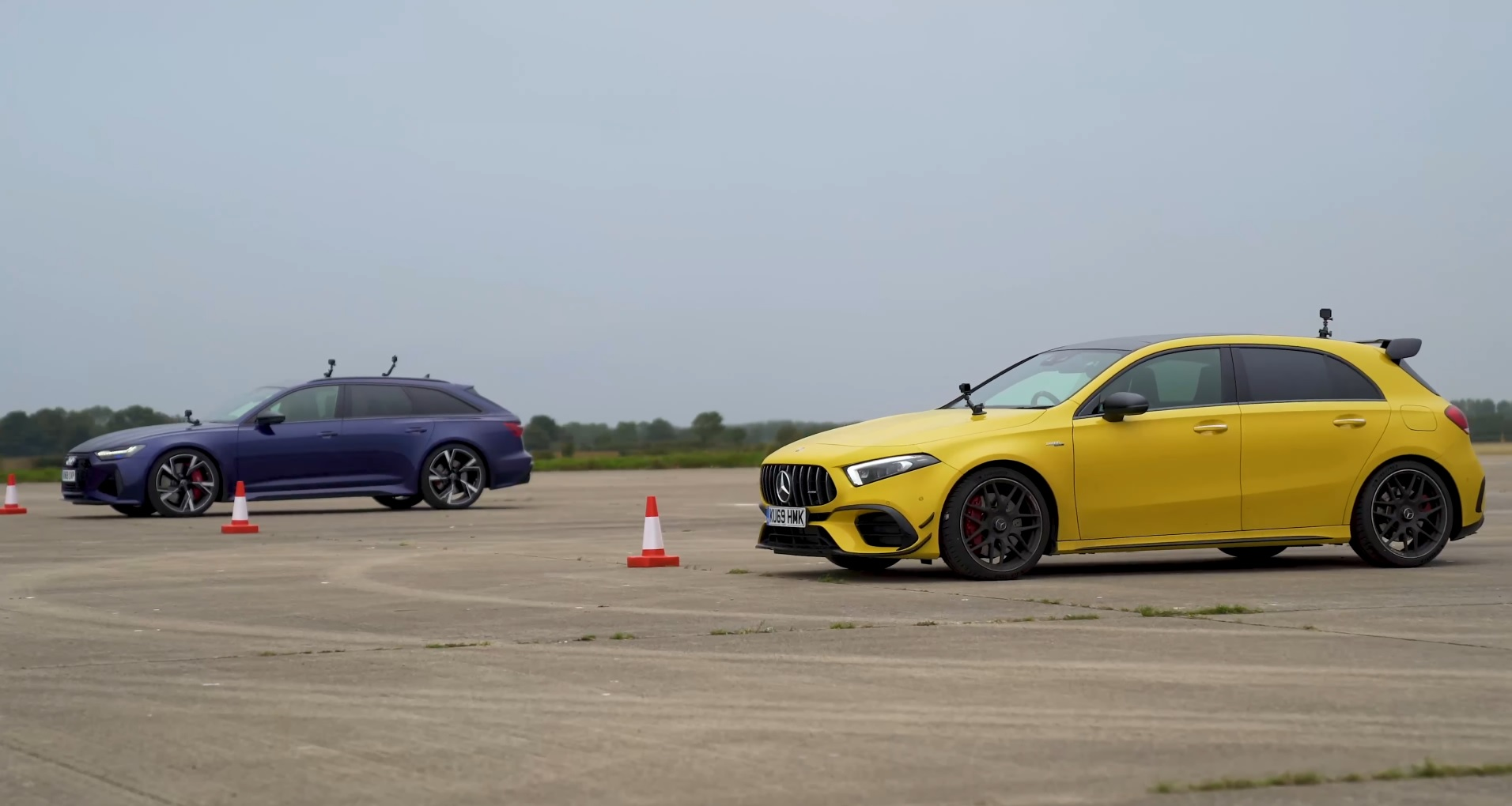 Audi RS6 vs Mercedes-AMG A 45 S