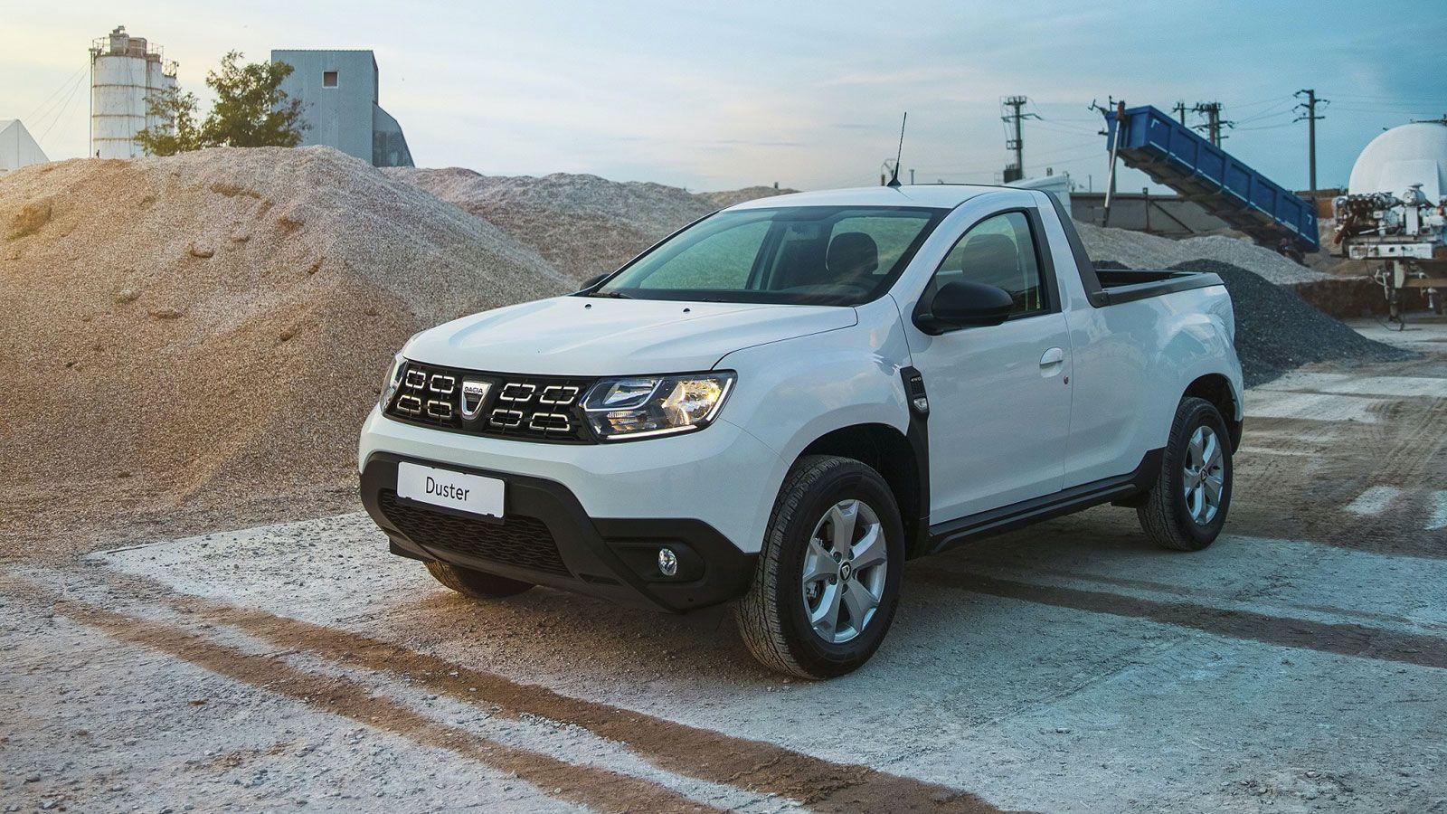 Dacia Duster Pick-up 2021 - dane techniczne