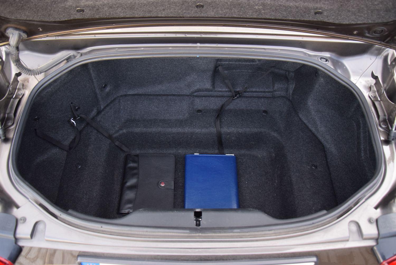 Fiat 124 Spider - pojemność bagażnika