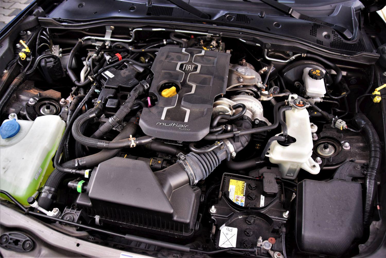 Fiat 124 Spider - dane techniczne