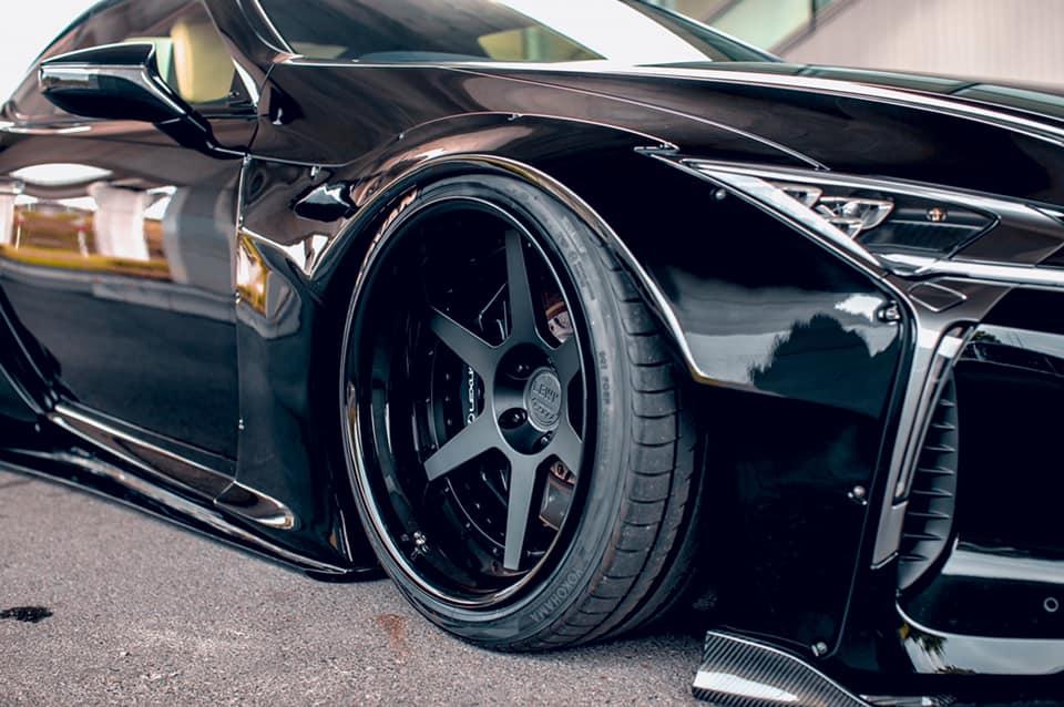 Lexus LC500 Liberty Walk wheels