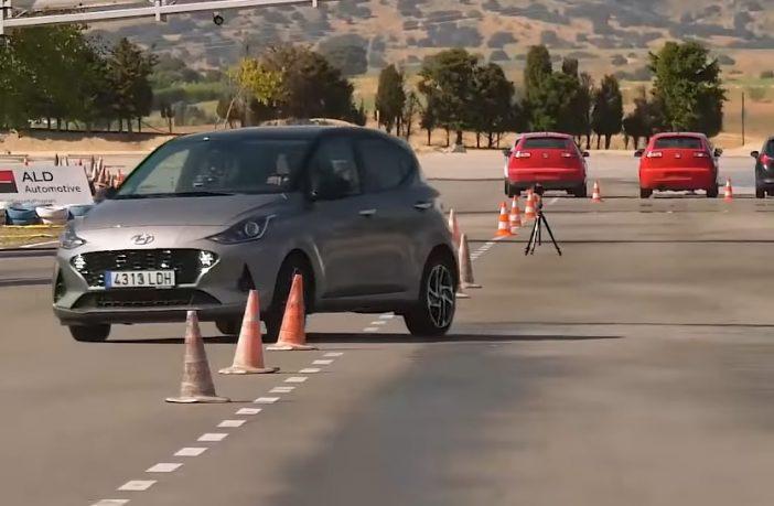 Hyundai i10 test łosia 2020