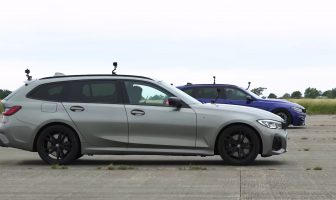 BMW M3 Touring F81 vs BMW M340i Touring G21