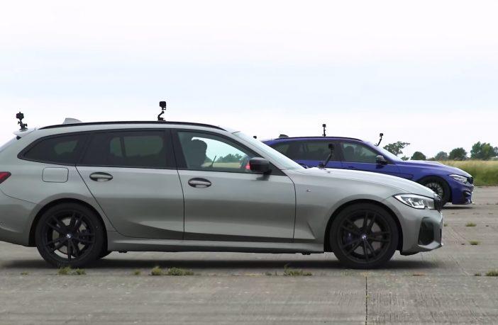 BMW M3 Touring F81 vs BMW M340i Touring G21