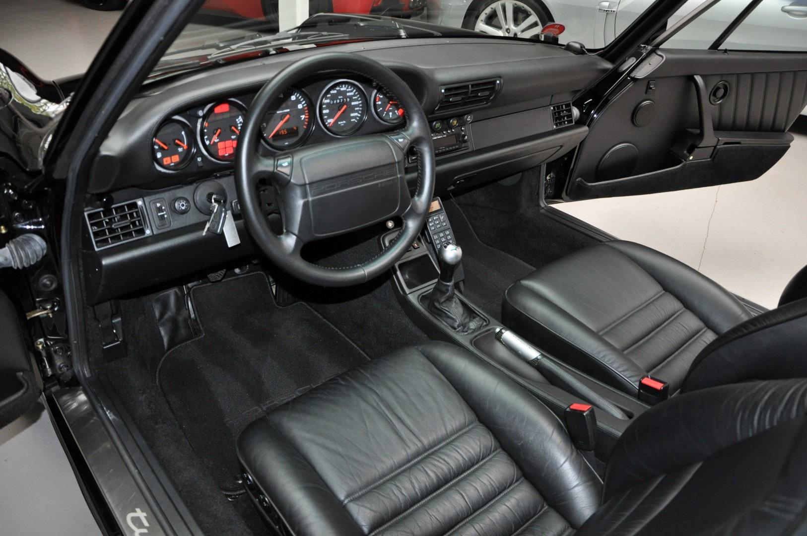 Porsche 911 964 - wnętrze
