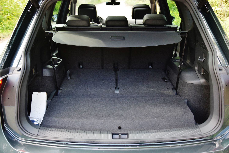 SEAT Tarrraco - pojemność bagażnika