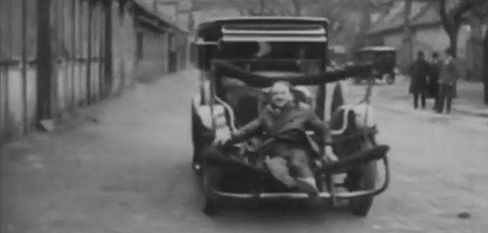 Tak100 lat temu próbowano chronić pieszych przedpotrąceniem
