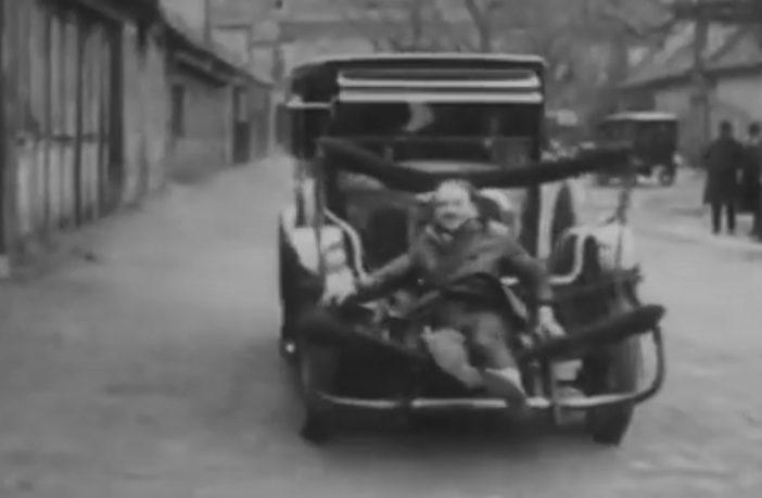 System ochrony pieszych sprzed 100 lat