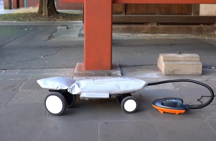 Nadmuchiwany skuter 2020